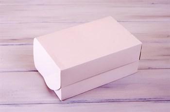 Коробка для капкейков/маффинов на 6 шт, 25х16х11, белая